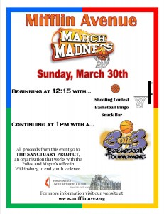 Mifflin March Madness Flyer without images